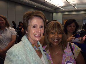 Nancy Pelosi & Judy Matthews